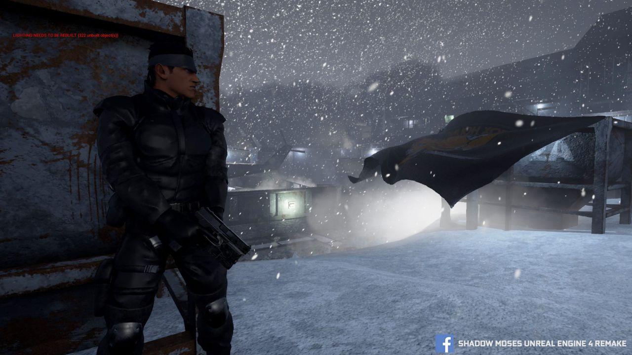 Shadow Moses: forse non tutto è perduto per il fan remake di Metal Gear Solid
