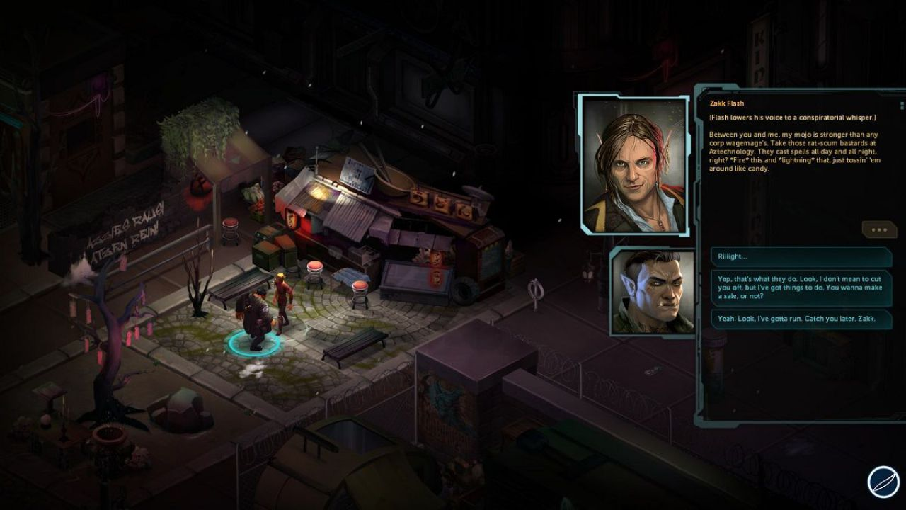 Shadowrun Returns disponibile su Google Play e App Store