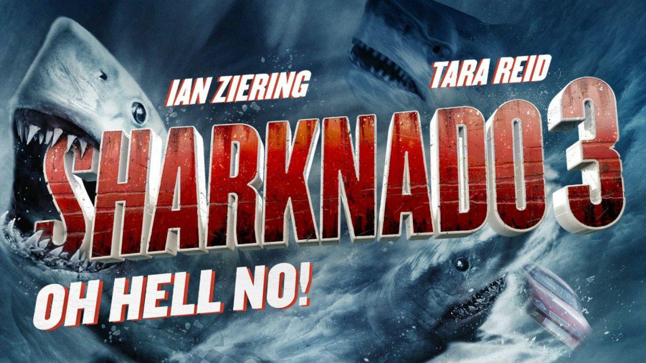 Sharknado 3 - oh hell no!: ecco il trailer