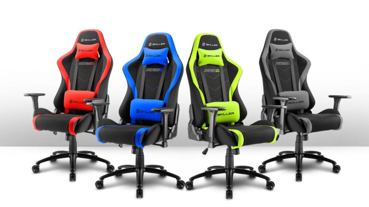 Sharkoon annuncia SGS2, la nuova sedia gaming in tessuto ...