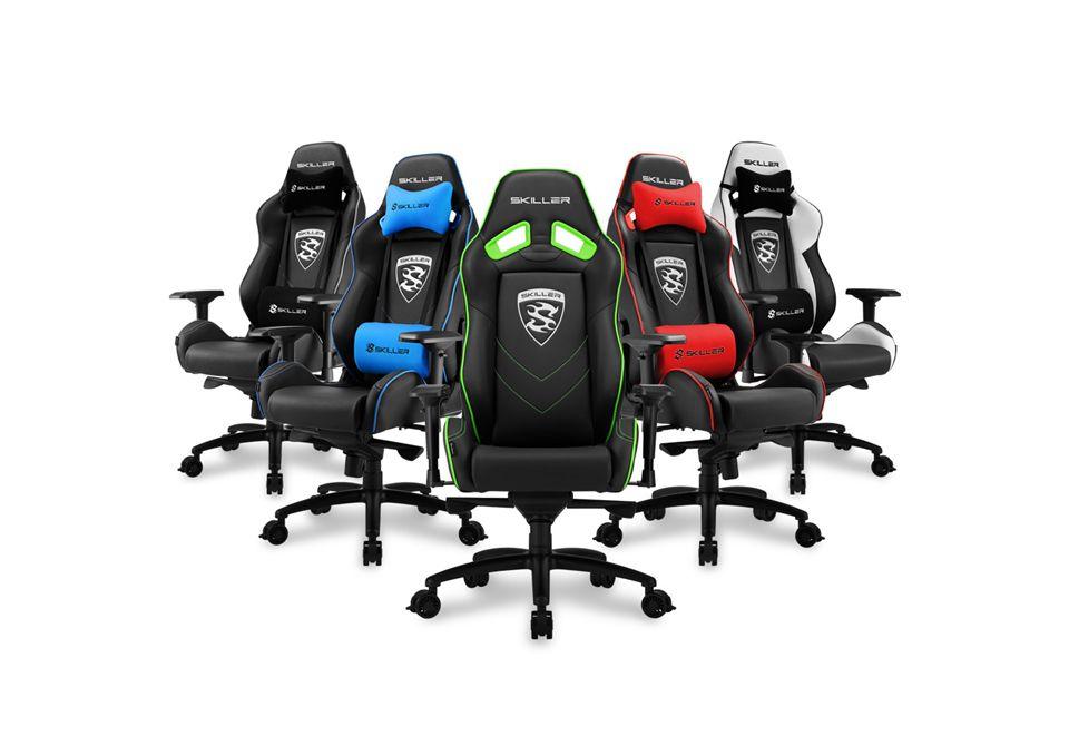 Sharkoon presenta la nuova sedia gaming skiller sgs3 for Sedia fortnite