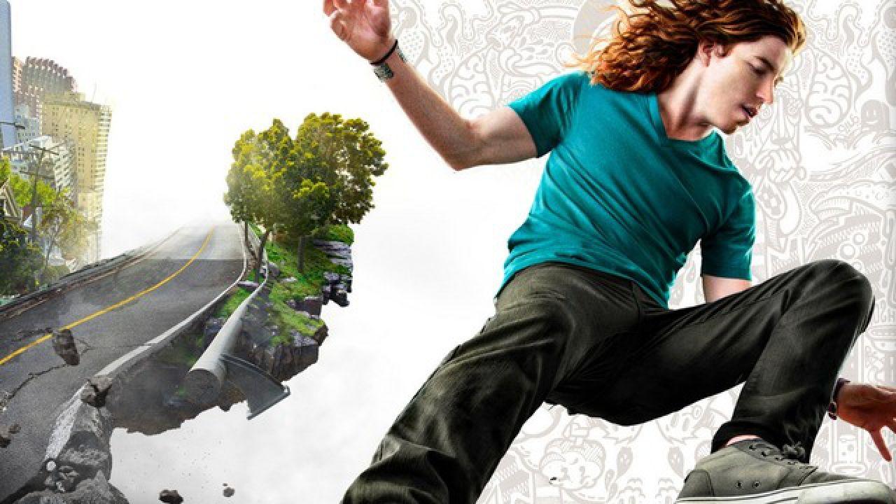 Shaun White Skateboarding filma la versione Wii