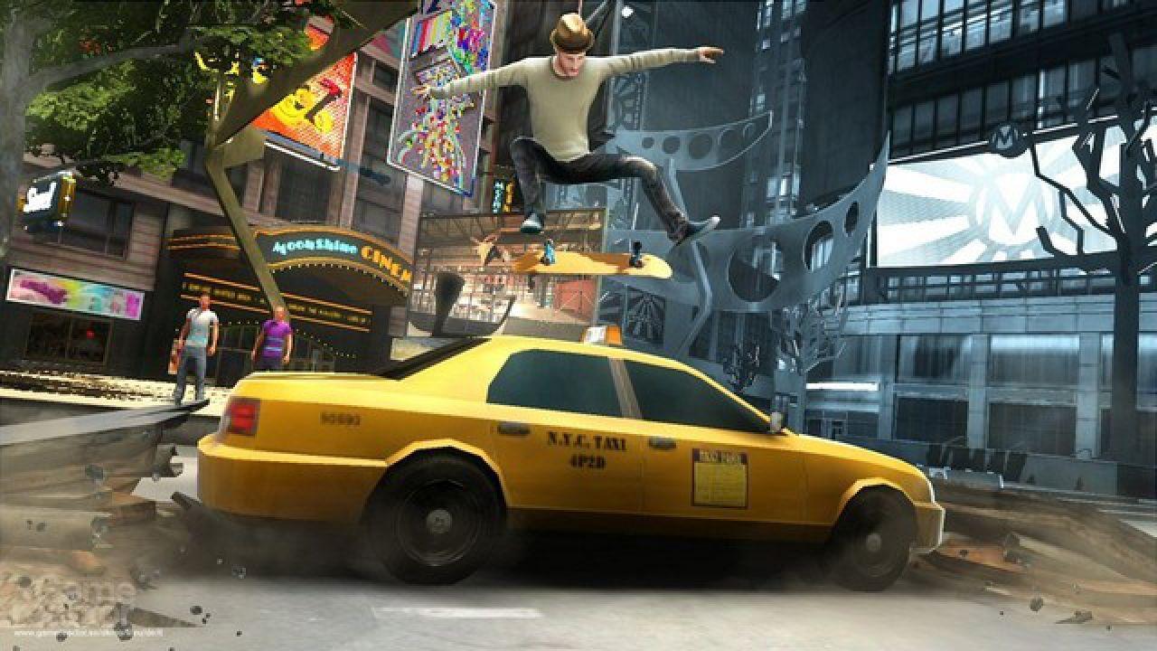 Shaun White Skateboarding si mostra su Nintendo Wii
