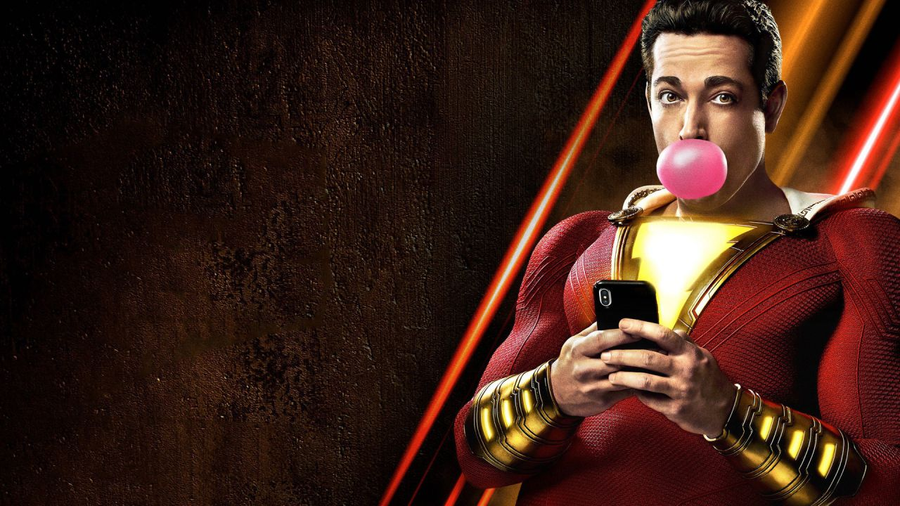 Shazam!: la parola a Mark Strong e Zachary Levi, villain ed eroe del film!