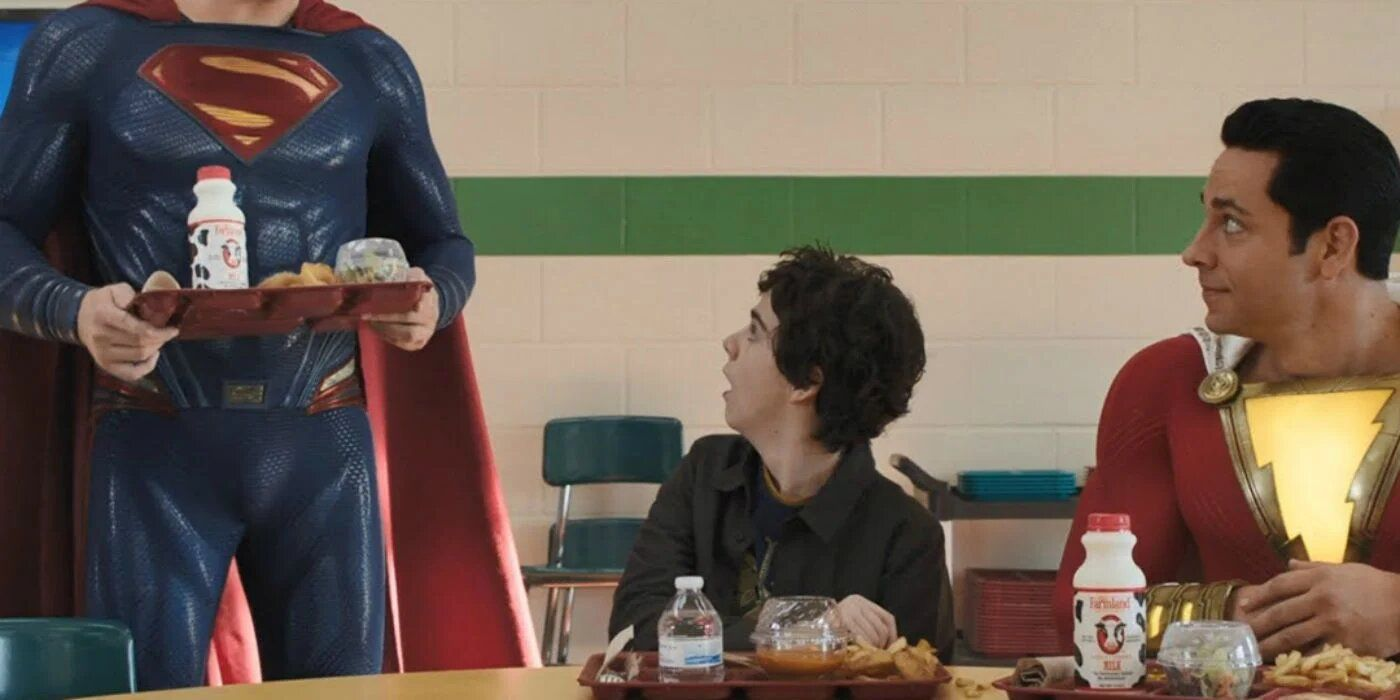 Shazam, il regista aggiunge Henry Cavill a una scena del film: ecco ...