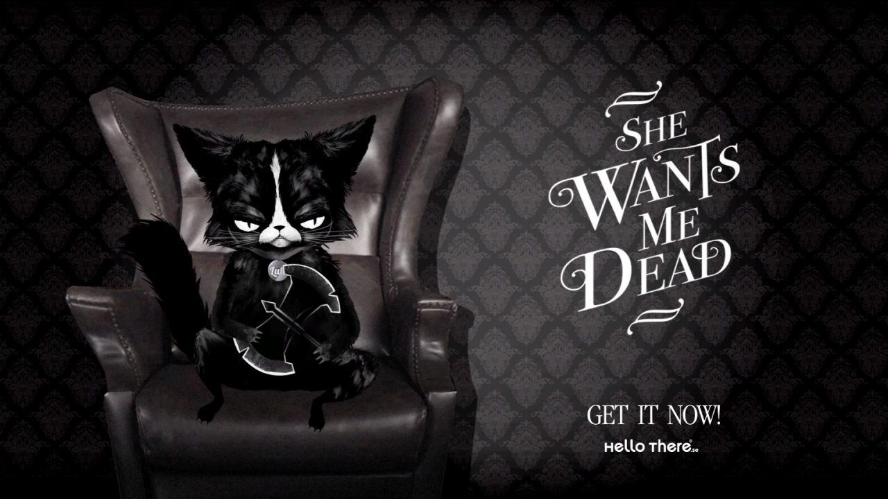 She Wants Me Dead disponibile ora su PlayStation 4