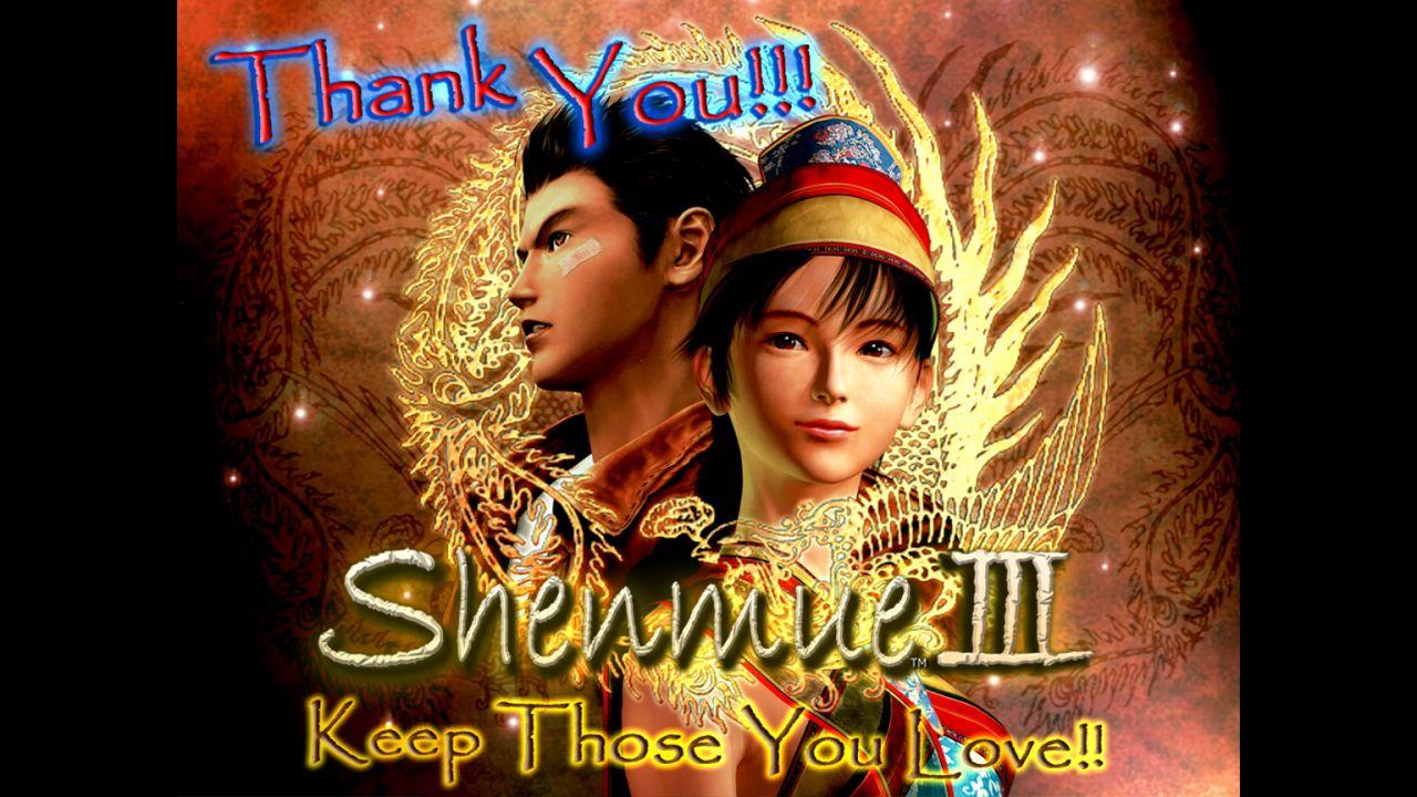 Shenmue 3: Yu Suzuki ringrazia i sostenitori per il primo anno di sviluppo