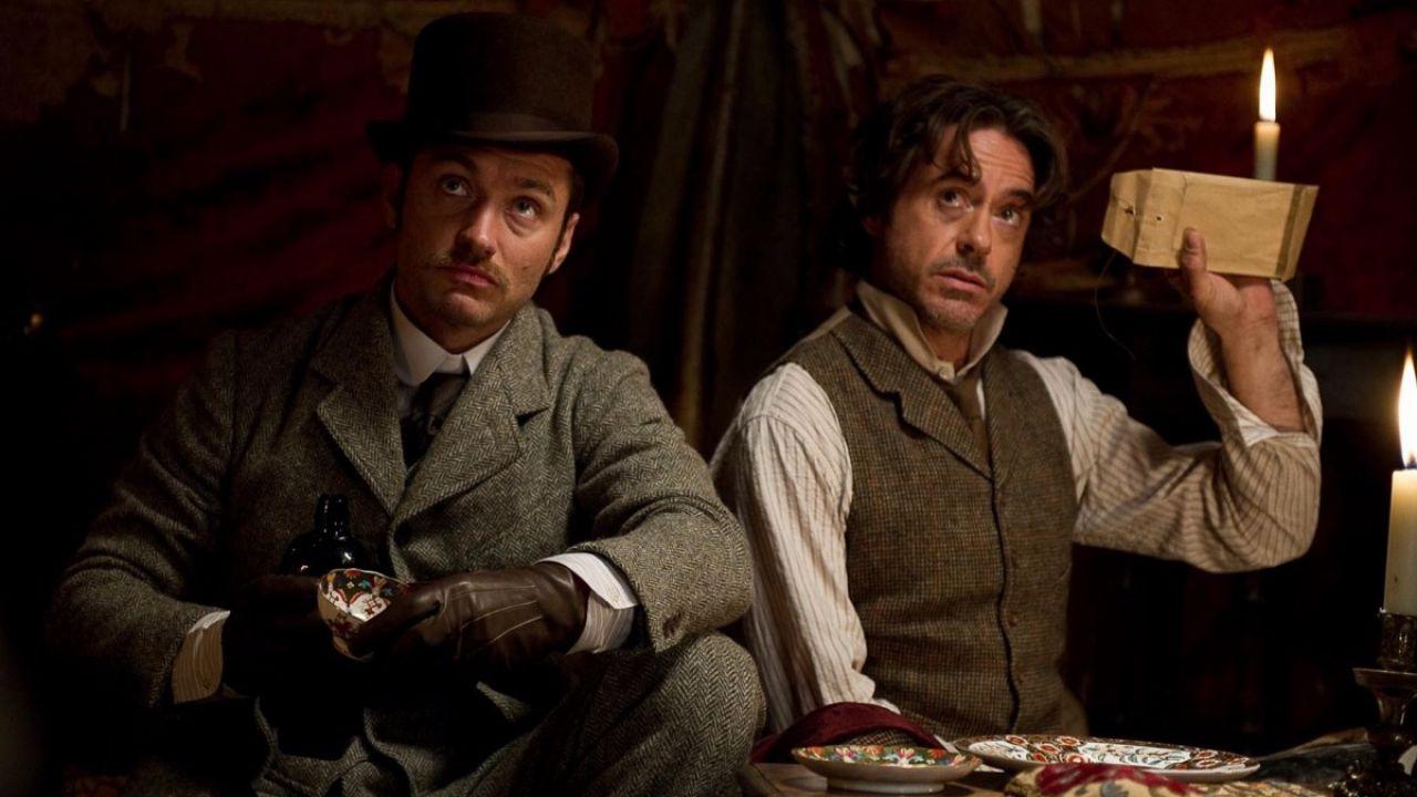 Sherlock Holmes - Gioco di Ombre, l'idea più divertente fu proposta da Robert Downey Jr.