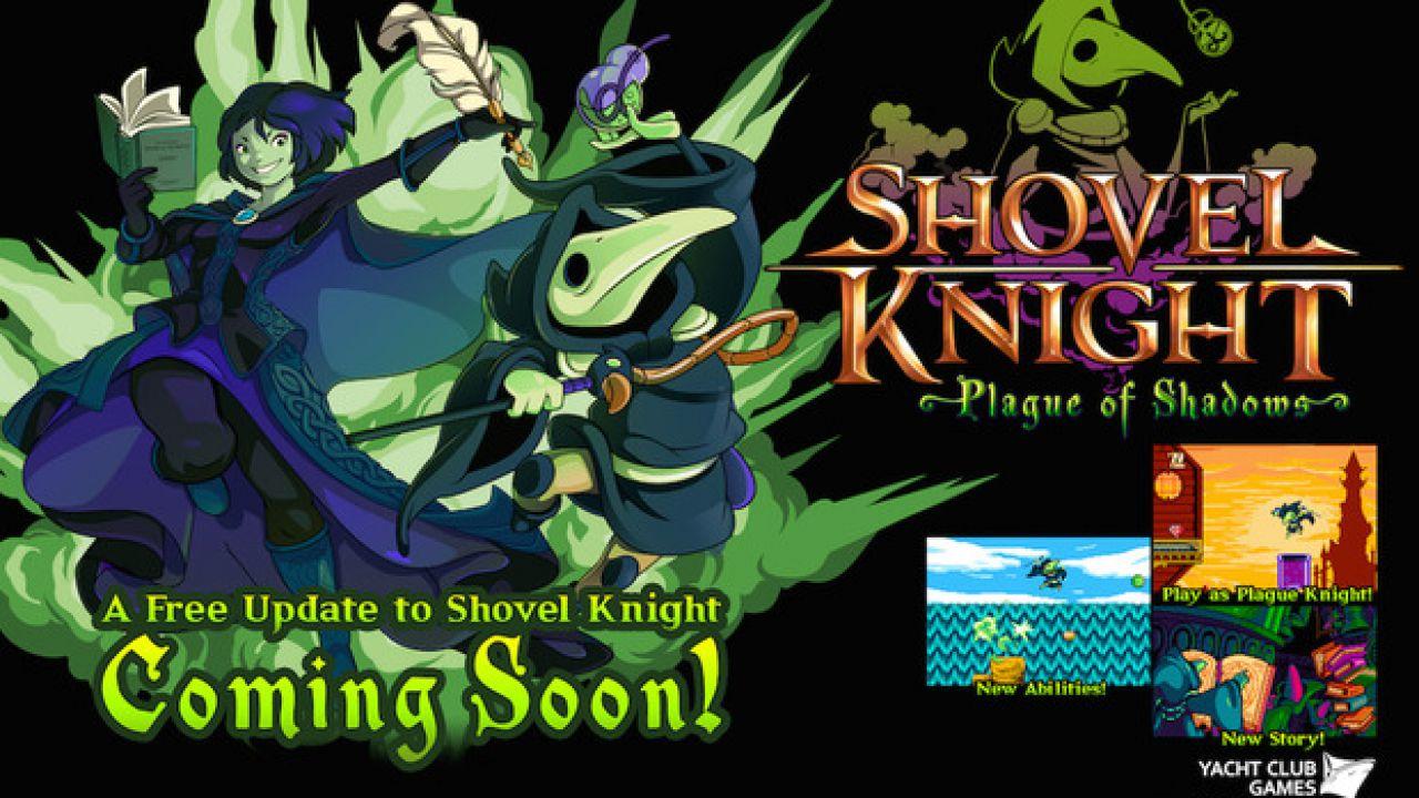 Shovel Knight: cinque minuti di gameplay dell'espansione Plague of Shadows