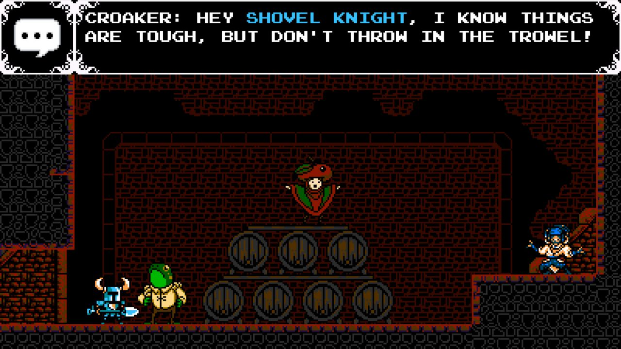 Shovel Knight Plague of Shadows si mostra in un video gameplay off-screen