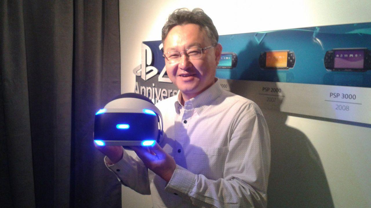 Shuhei Yoshida: PS4 Pro porterà grandi benefici ai possessori di PlayStation VR