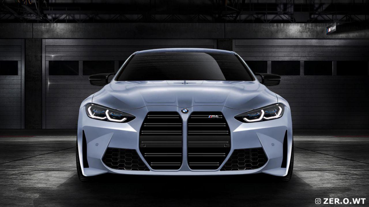 Sì, sarà proprio questo l'aspetto della BMW M4: le immagini