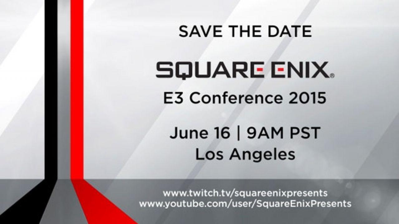 Siamo tutti invitati alla conferenza di Square Enix all'E3