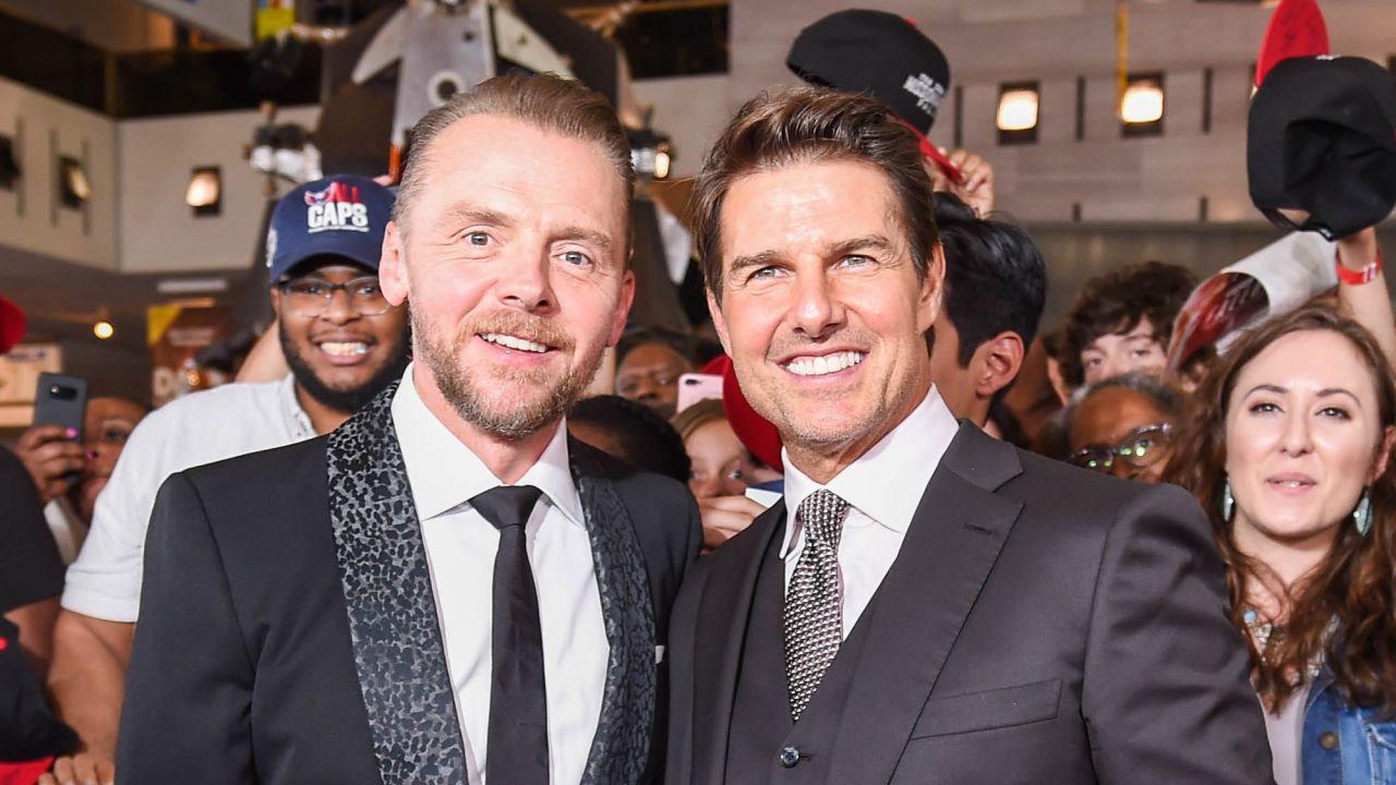 Simon Pegg ha le idee chiare: 'Voglio andare nello spazio con Tom Cruise!'