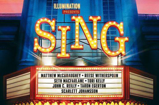 Sing illumination presenta il suo nuovo cartone animato