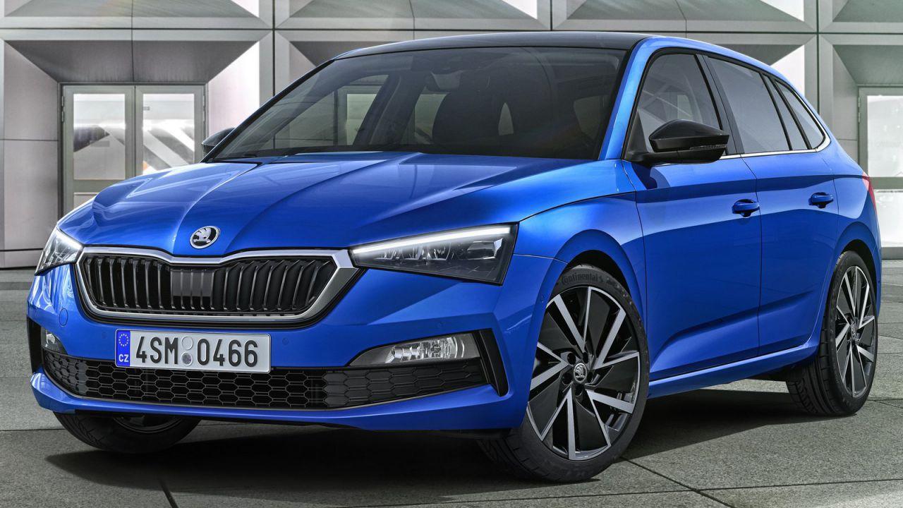 Skoda Scala Rs La Nuova Hatchback Potrebbe Arrivare Anche In Versione Sportiva