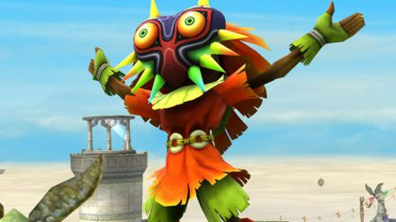 Skull Kid si presenta in un nuovo video gameplay di Hyrule Warriors Legends