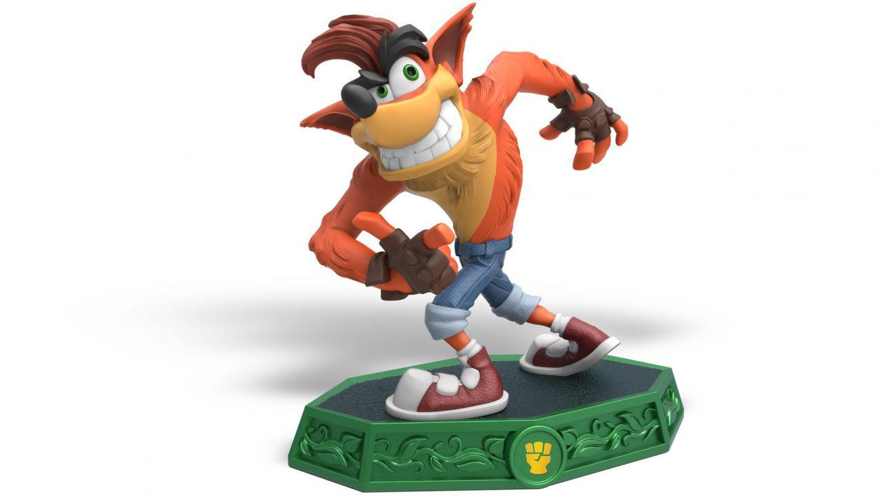 Skylanders Imaginators: ecco la statuina di Crash Bandicoot