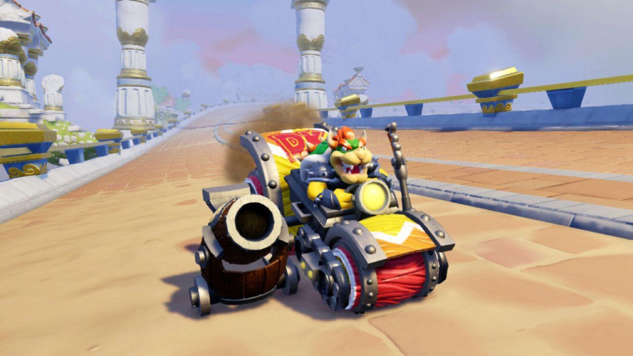 Skylanders SuperChargers: Donkey Kong e Bowser saranno inclusi solamente nello Starter Pack