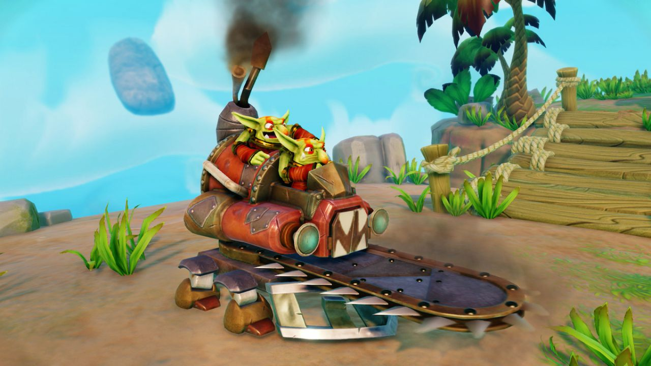 Skylanders: Trap Team - immagini comparative per le versioni Wii e Wii U