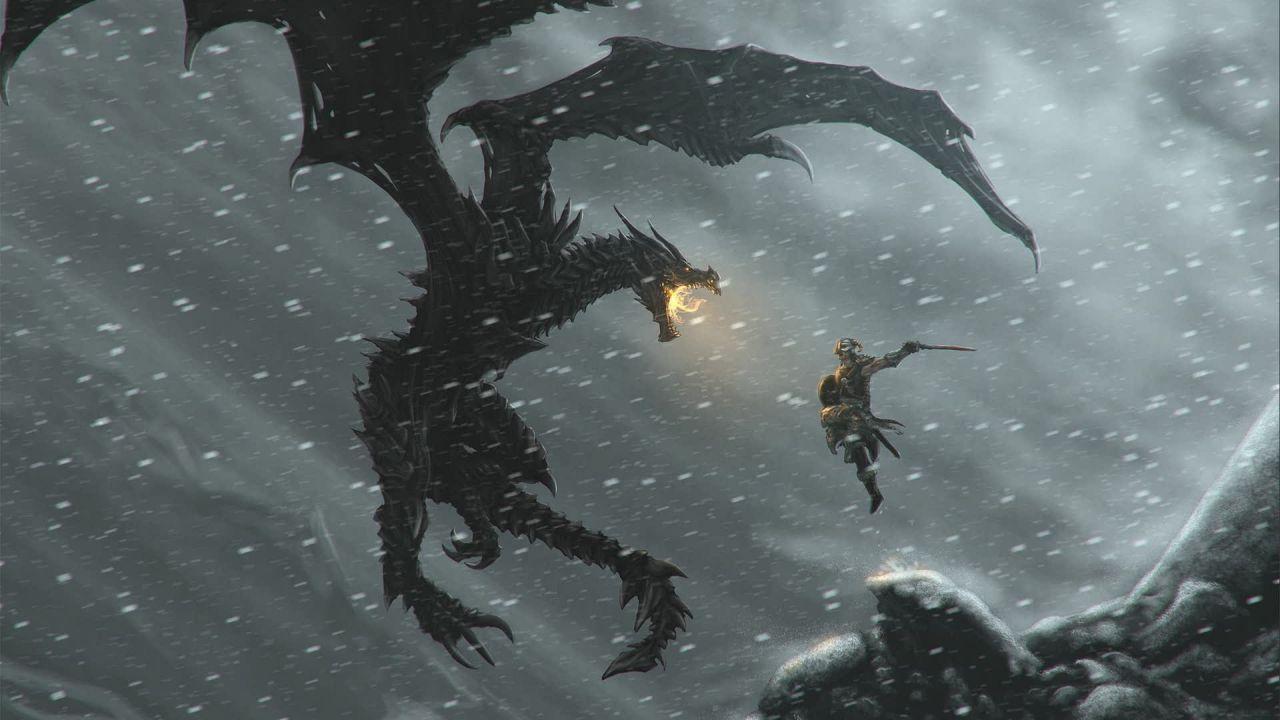 Skyrim Special Edition: orario di sblocco e requisiti per l'aggiornamento su PC