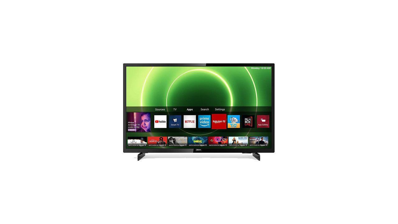 Smart TV Philips DVB-T2 con Netflix in offerta a meno di 190 euro