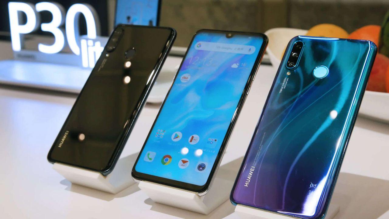 Smartphone Huawei con GMS a rischio: potrebbero non essere più aggiornati