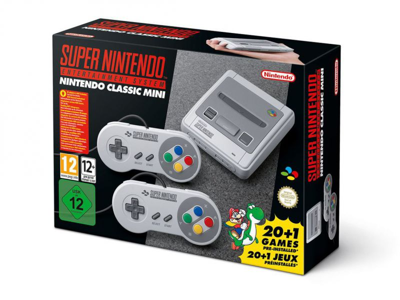 SNES Classic Mini: il preorder su Amazon è nuovamente disponibile