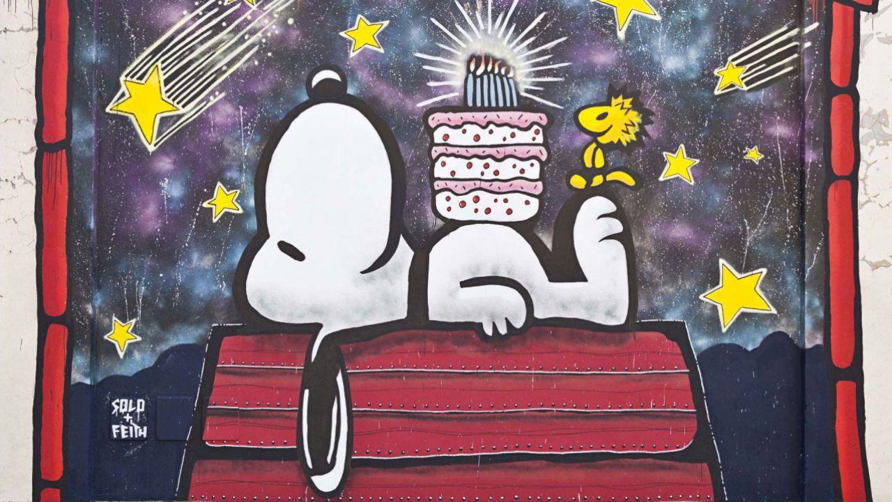 Préférence & Friends - Il film dei Peanuts:la street art celebre il  LT78