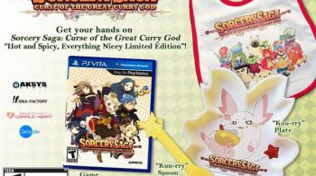 Socery Saga: Curse of the Great Curry God arriva in Europa nel 2014