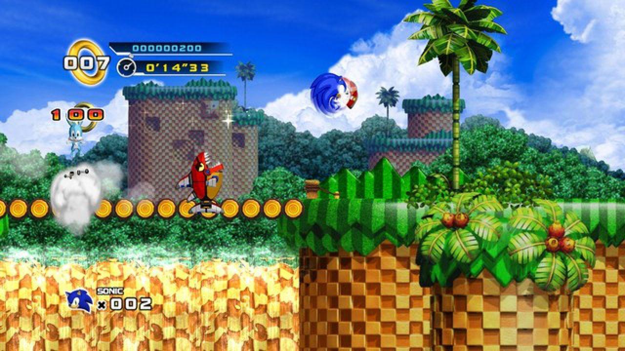 Sonic 4 per console casalinghe includerà dei livelli assenti su iPhone