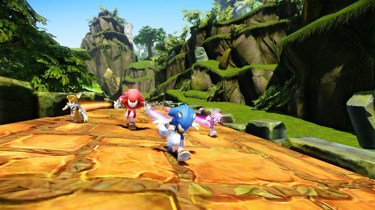 Sonic Boom Frammenti di Cristallo: video con 20 minuti di gameplay