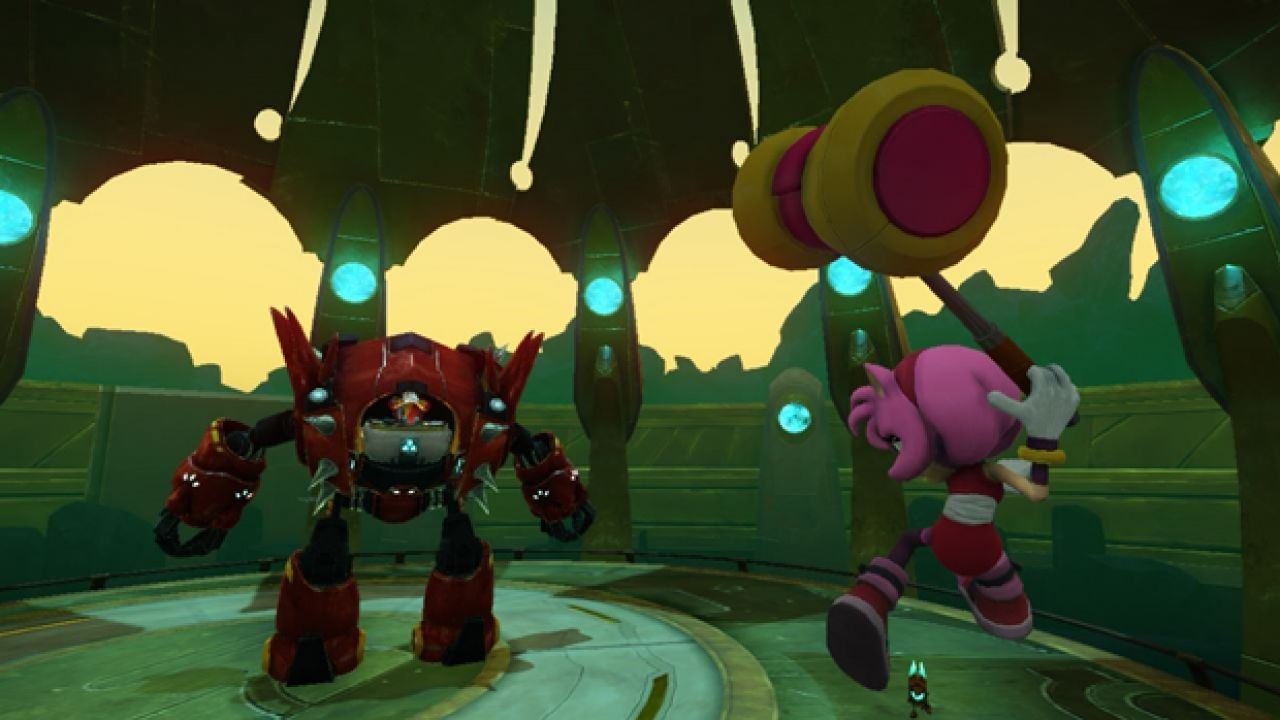 Sonic Boom Shattered Crystal: video gameplay off screen