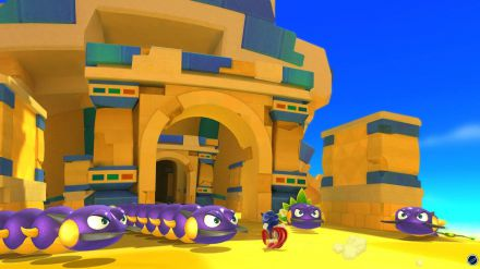 Sonic Lost World 3DS: un gameplay video off-screen