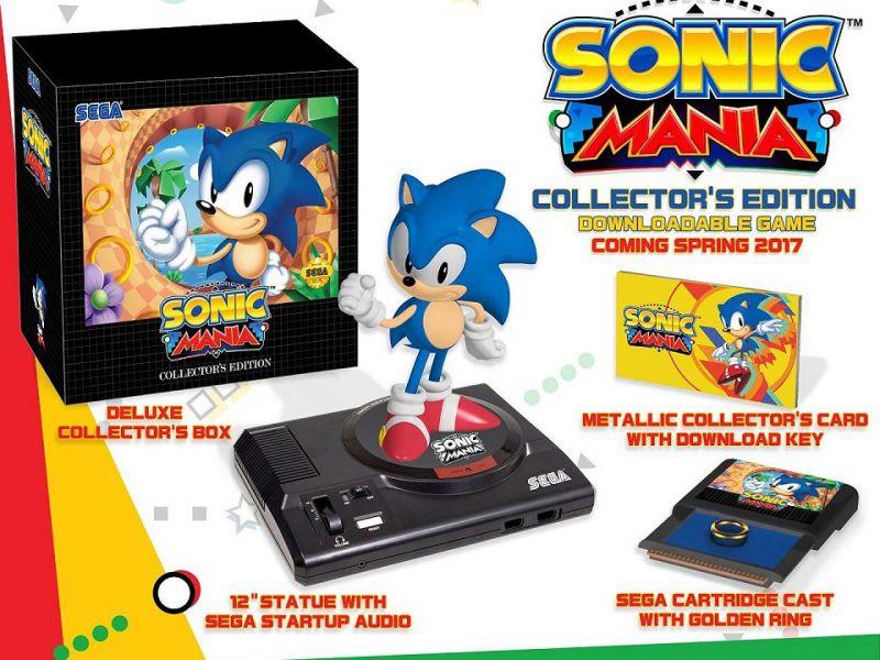 Sonic Mania: pubblicato un video unboxing della Collector's Edition