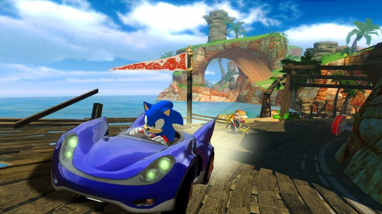 Sonic & Sega All Star Racing, il carrello di Ryo come DLC