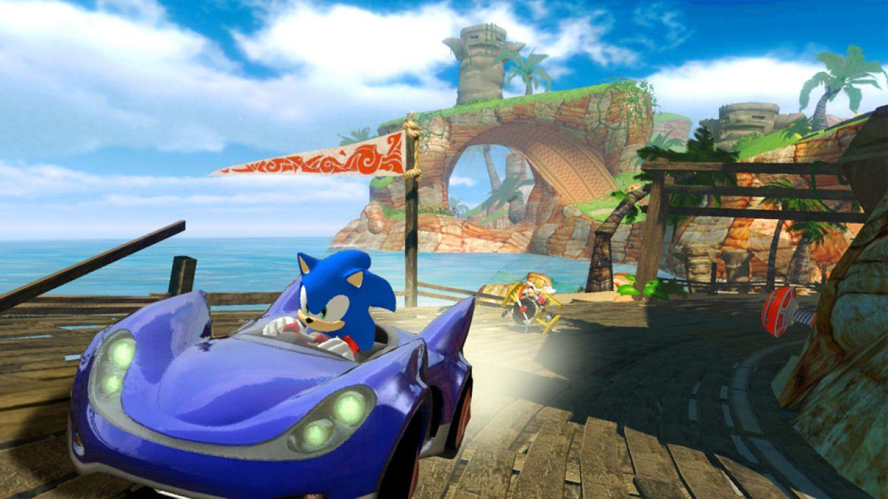 Sonic & Sega All Star Racing disponibile oggi su AppStore