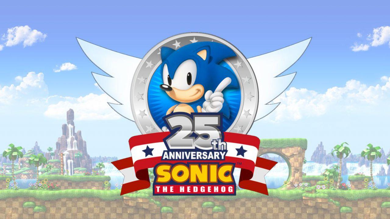 Sonic The Hedgehog: svelato il logo per il venticinquesimo anniversario