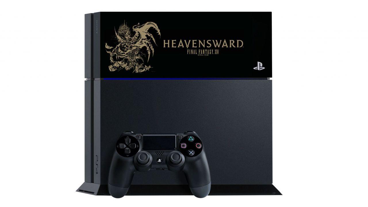 Sony annuncia le edizioni speciali di PS4, Vita e Vita TV dedicate a Final Fantasy XIV Heavensward