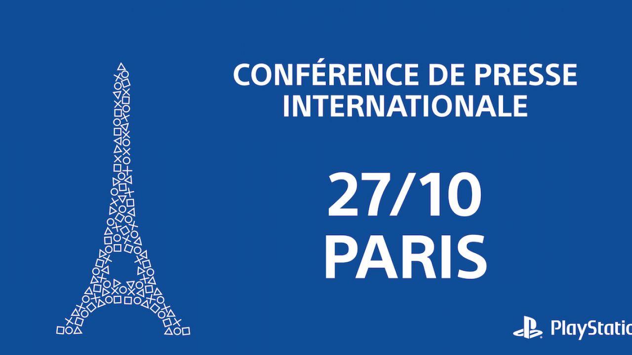 Sony: data, ora e streaming della conferenza alla Paris Games Week 2015