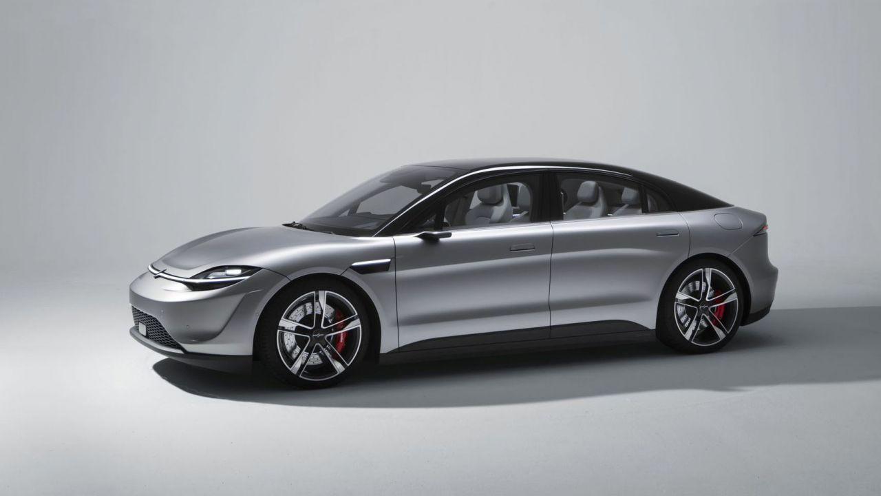 Sony lancia a sorpresa la sua auto elettrica al CES 2020: ecco la Vision S