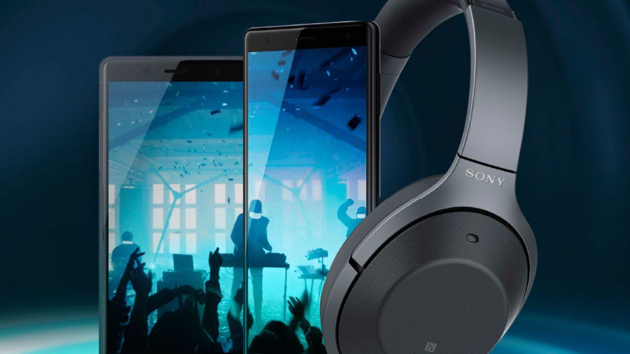 Sony regala un paio di cuffie wireless sui preordini dell'Xperia XZ2 ed XZ2 Compact
