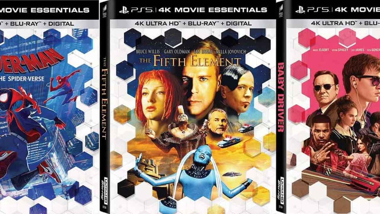 Sony ripubblica alcuni film in Blu-Ray con il logo PS5 sulla copertina