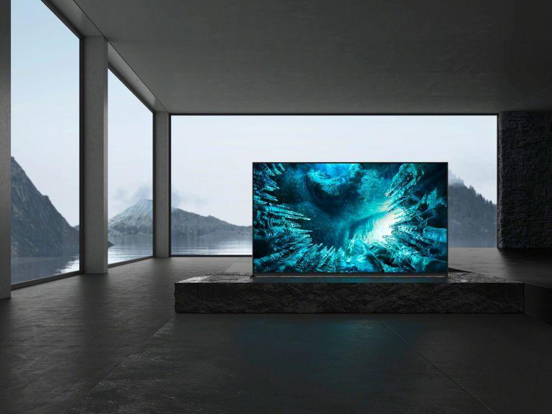 Sony: i TV ZH8 LED 8K HDR in arrivo nei negozi ad inizio giugno