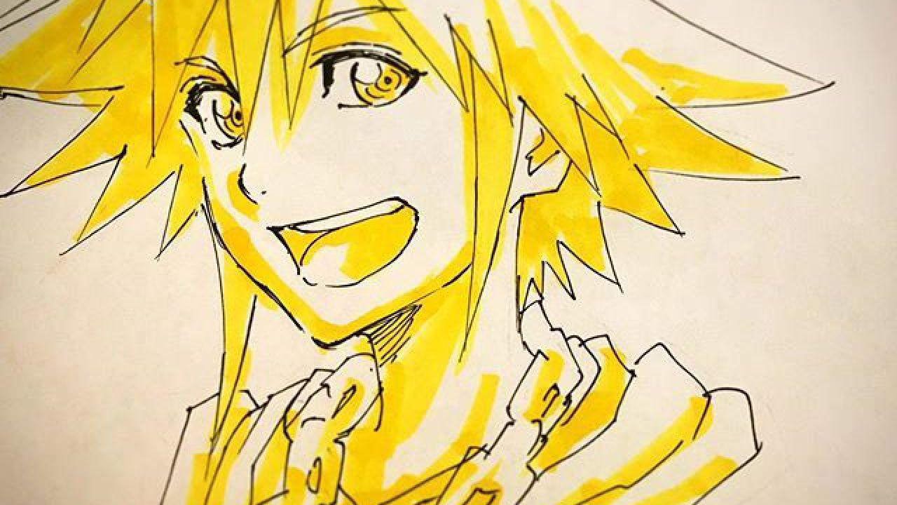 Sora di Kingdom Hearts è il soggetto di una nuova illustrazione dell'animatore di Bleach