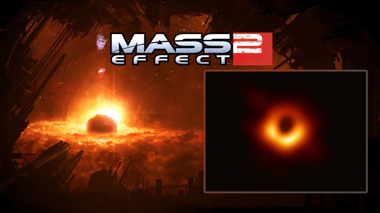 Sorpresa: la prima foto di un Buco Nero ricorda Mass Effect 2!
