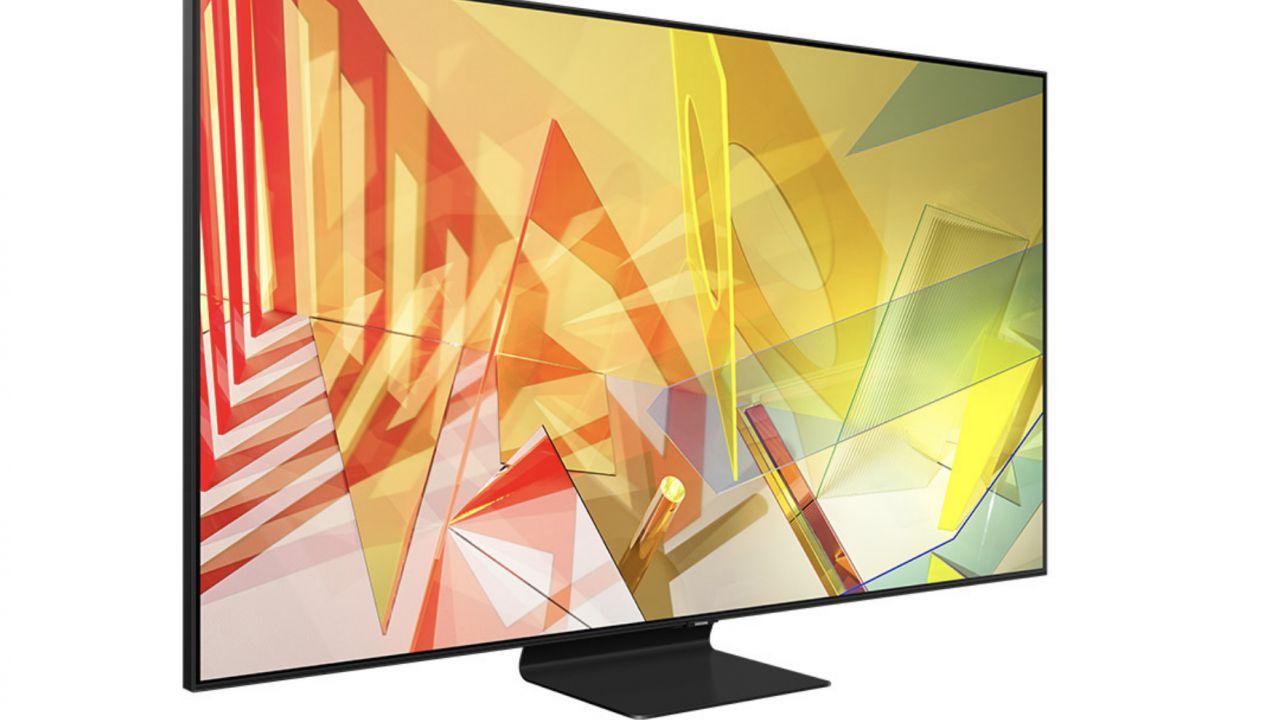Sottoprezzo Unieuro: 25% di sconto su un TV QLED Samsung da 55'