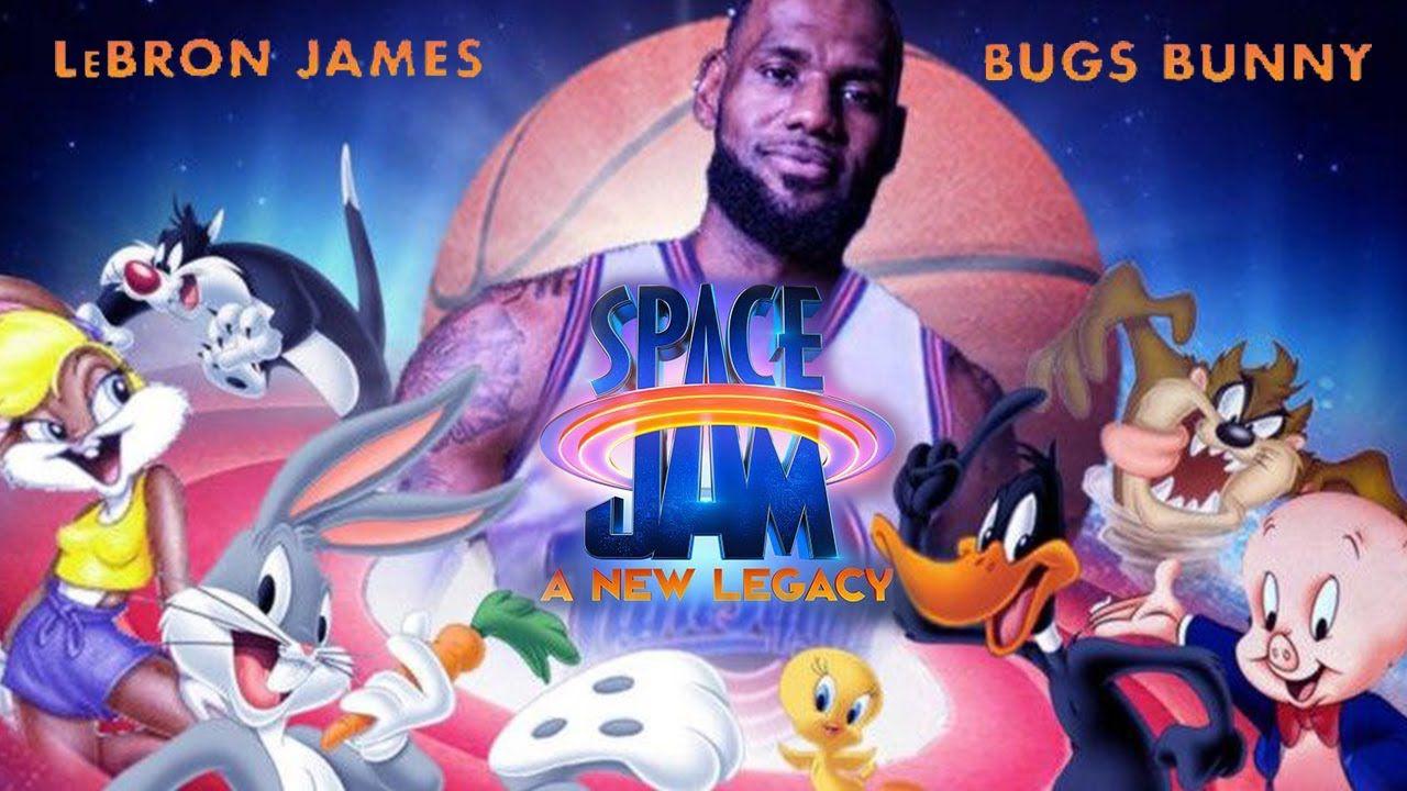 Space Jam 2: LeBron James è pronto per la sfida nell'epica locandina di Bossogic