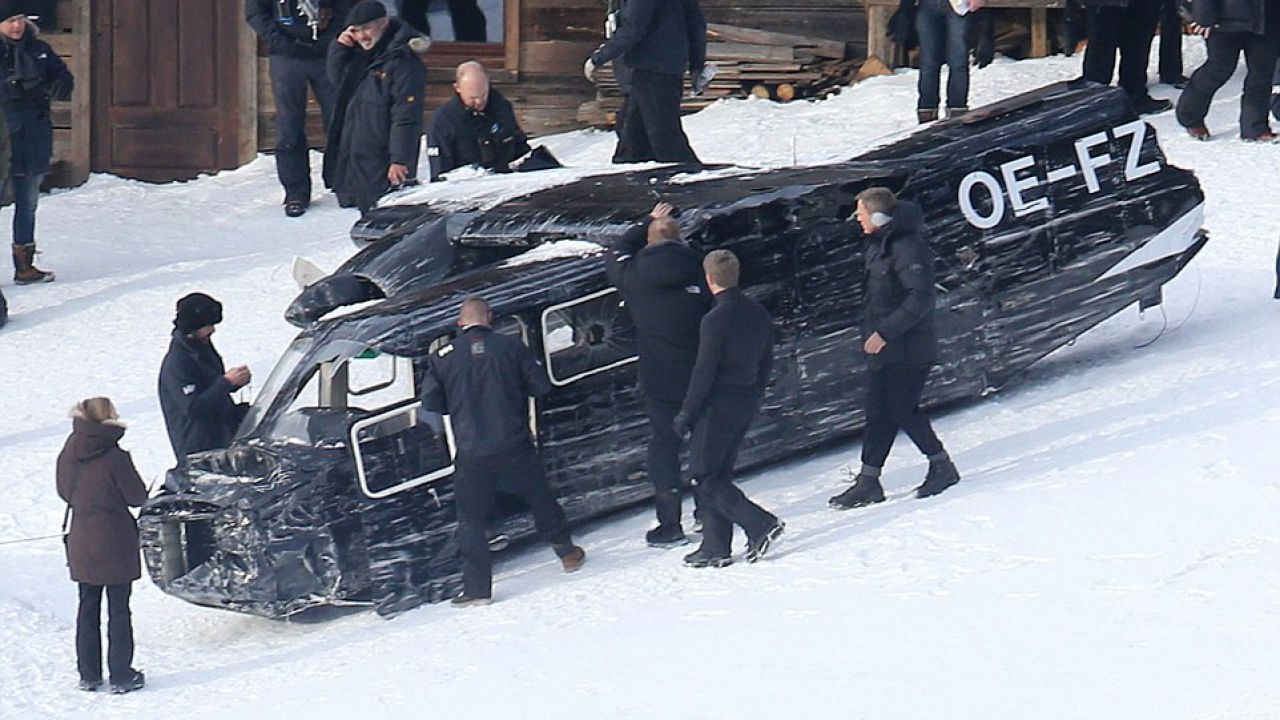 Spectre: nuovi video del 24° film di James Bond dal set romano