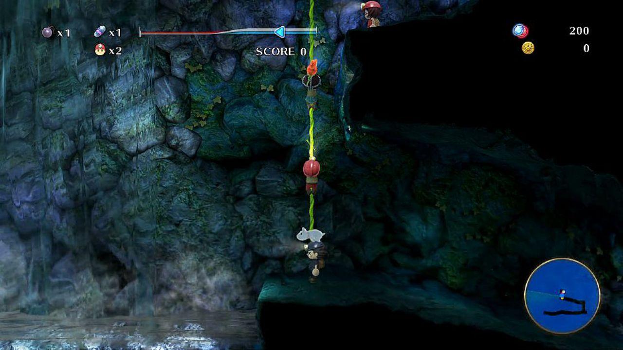Spelunker Z annunciato per PlayStation 4